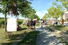 Entrée du « village médiéval »